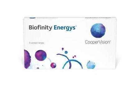 Soczewki Biofinity Energys 3 szt.